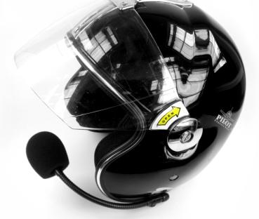 Helmsprechset für Goldwing®, Modell für offene und Jet-Helme